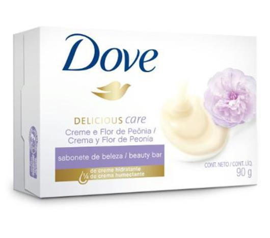 Sabonete Dove Delicious Care Peônia 90g - Imagem em destaque
