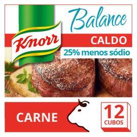 Caldo Knorr Balance Carne 12 cubos