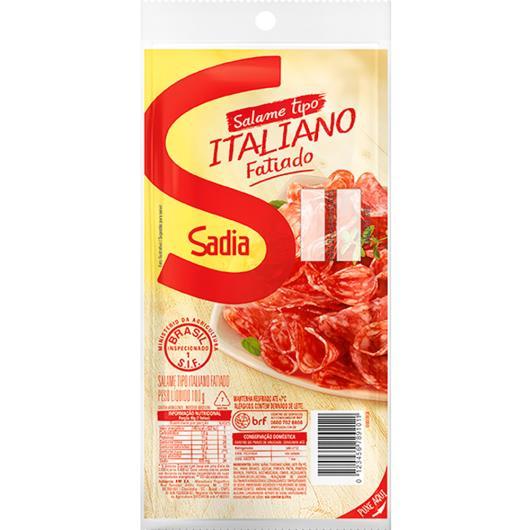 Salame Tipo Italiano Sadia fatiado 100g - Imagem em destaque