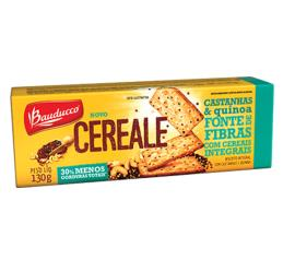 Biscoito Bauducco Cereale Castanha e Quinoa 130g