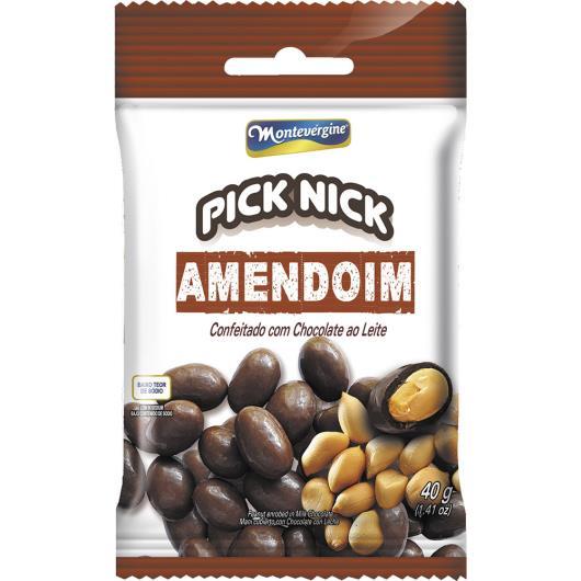 Amendoim Pick Nick Cobertura de Chocolate 40g - Imagem em destaque