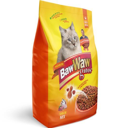 ALIMENTO PARA GATOS BAW WAW MIX 1kg - Imagem em destaque
