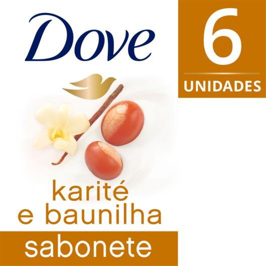Karite e Baunilha Sabonete em Barra 90 GR 6 unidades - Imagem em destaque