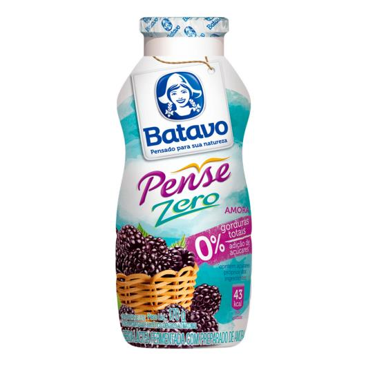 Bebida Láctea Batavo Pense Zero Amora 170g - Imagem em destaque
