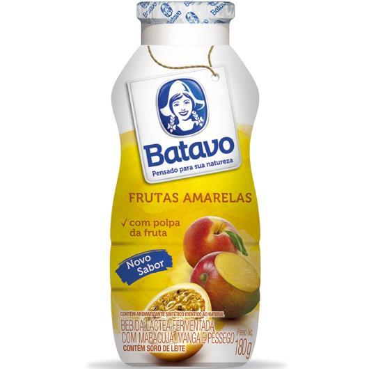 Bebida Láctea Batavo Frutas Amarelas 180g - Imagem em destaque