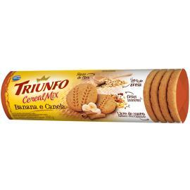 Biscoito Triunfo Cereais Mix Banana e Canela 200g