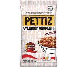 Amendoim Dori Pettiz Pimenta Vermelha 500g
