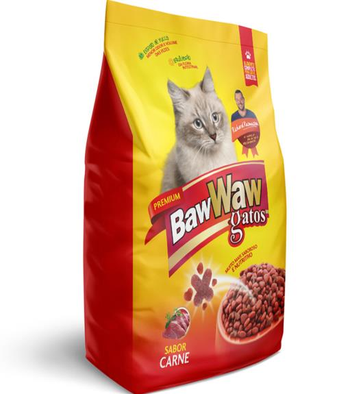 ALIMENTO PARA GATOS BAW WAW CARNE 1kg - Imagem em destaque