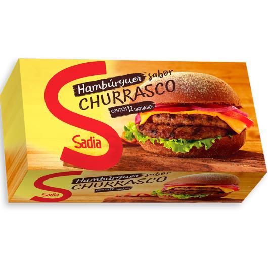 Hambúrguer Sadia bovino temperado churrasco 672g - Imagem em destaque
