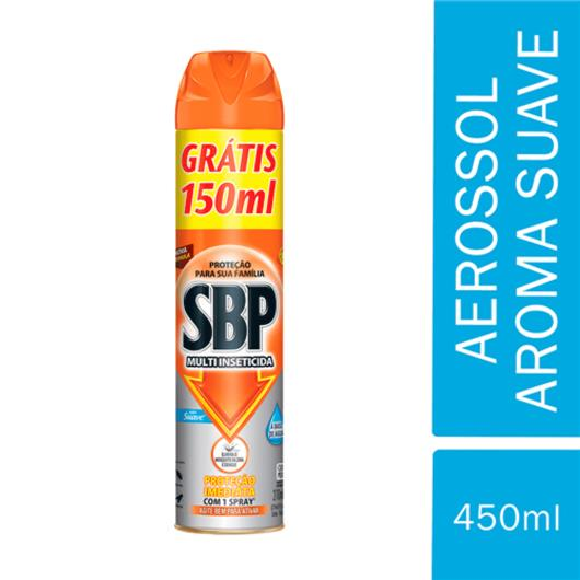Inseticida SBP Multi Insetos Suave Gratis 150ml 420ml - Imagem em destaque