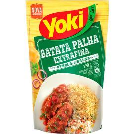 Batata Palha Yoki Extra Fina Premium Cebola e Salsa 120g