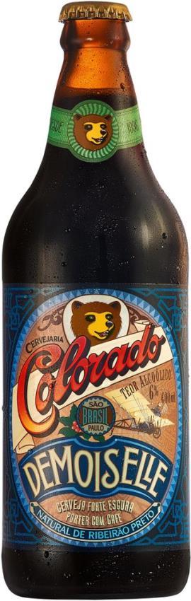 Cerveja Colorado Demoisellle garrafa - 600 ml