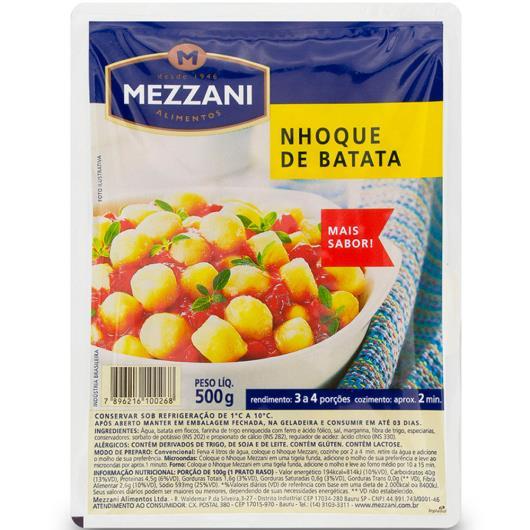 Nhoque de batata Mezzani 500g - Imagem em destaque