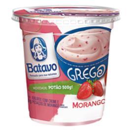 Iogurte Grego Batavo Pedaços de Morango 500g