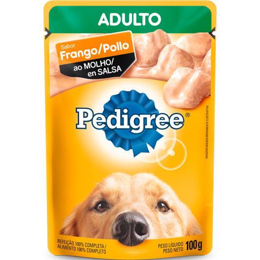 Alimento para Cães Pedigree Adulto Frango ao Molho Sachê 100g - Imagem em destaque