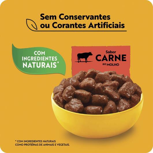 Alimento para Cães Adultos 7+ Carne ao Molho Pedigree Sachê 100g - Imagem em destaque