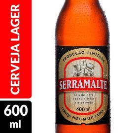 Cerveja Serramalte Extra Garrafa 600ml