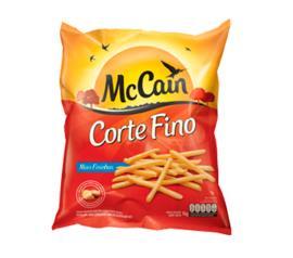 Batata McCain Corte Fino Pré Frita Congelada 400g