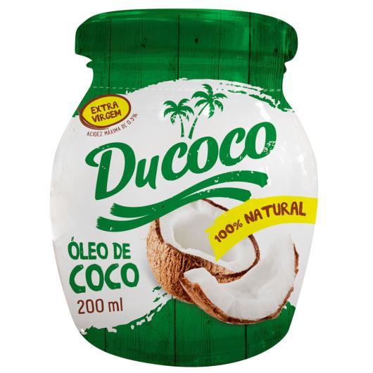 Óleo de Coco Ducoco 200ml - Imagem em destaque