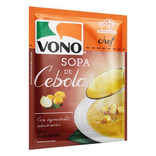 Sopa Cebola Vono Chef Pacote 58g - Imagem em destaque