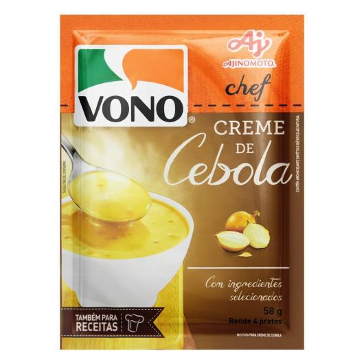 Creme Cebola Vono Chef Pacote 58g - Imagem em destaque