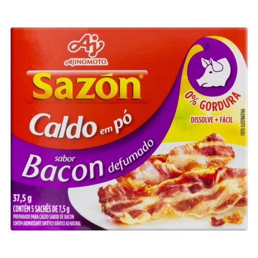 Caldo em Pó Bacon Defumado Sazón Caixa 37,5g 5 Unidades - Imagem em destaque