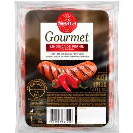Linguiça Seara Pernil Gourmet apimentada 500G