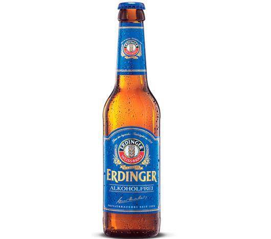 Cerveja Erdinger Alkoholfrei Long Neck 330ml - Imagem em destaque