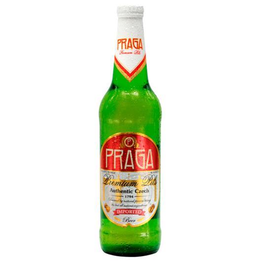 Cerveja Praga Premium Pils Garrafa 500ml - Imagem em destaque