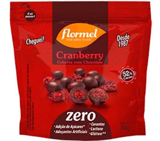 Cranberry Flormel Cobertura com Chocolate Zero 30g - Imagem em destaque