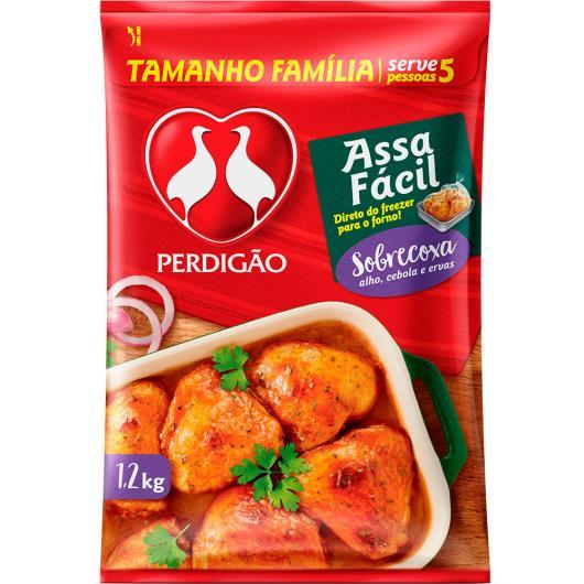Sobrecoxa Frango Perdigão 1,2kg Temperada Assa Fácil - Imagem em destaque