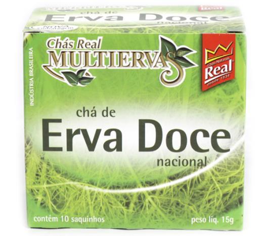 Chá Real multiervas erva doce15g - Imagem em destaque