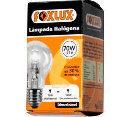 Lampada Foxlux Halogena 70W127V. UN
