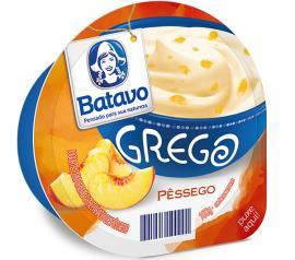 Iogurte Grego Batavo Pêssego 100g