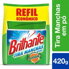 Tira Manchas Brilhante Utile Antibac Refil econômico 420gr