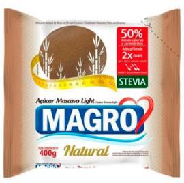 Açúcar Magro Macavo Light Natural 400g
