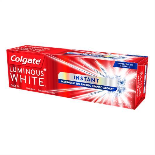 Creme Dental Colgate Luminous white Instant White 70g - Imagem em destaque