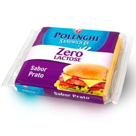 Queijo Prato  Polenghi Sandwich in Processado Zero Lactose 144g