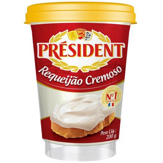 Requeijão Président Cremoso 200g - Imagem em destaque