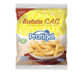 Batata Congelada CAC Pratigel Pré-Frita 720g