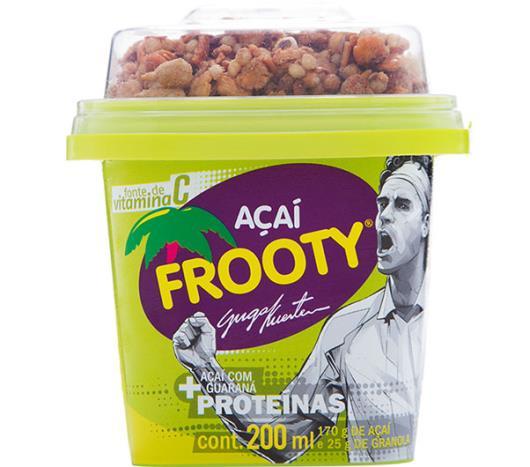 Açaí Frooty com Guaraná com Granola 200ml - Imagem em destaque