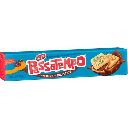 Biscoito Passatempo Recheado Chocolate 130g - Imagem em destaque