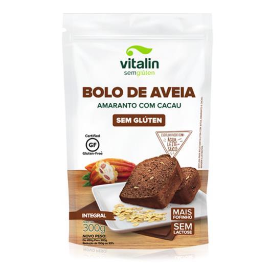 Mistura para Bolo Vitalin Aveia e Amaranto com Cacau 300g - Imagem em destaque