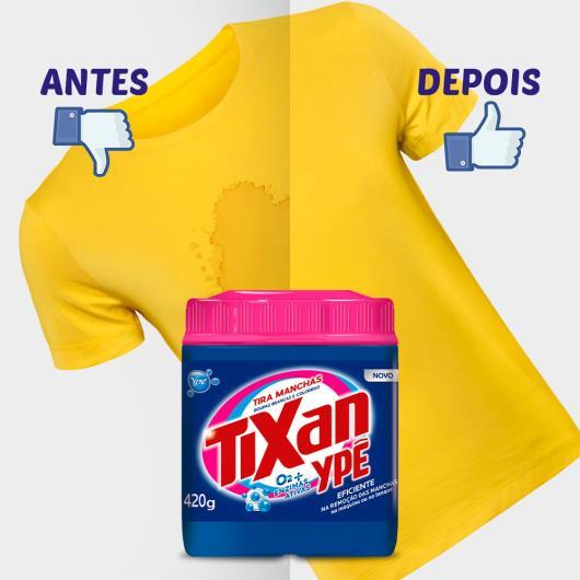 Tira Manchas Tixan Ypê em pó roupas Coloridas 420g - Imagem em destaque