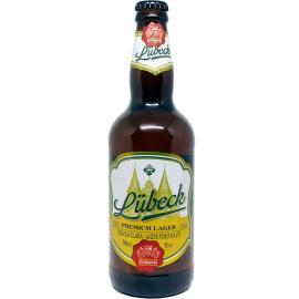 Cerveja Lubeck Premium Lager Garrafa 500ml