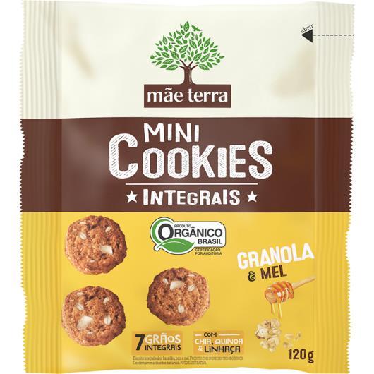 Cookie Mãe Terra Granola e Mel Mini Orgânico 120g - Imagem em destaque
