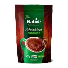 Achocolatado em pó Native Orgânico sachê 400g