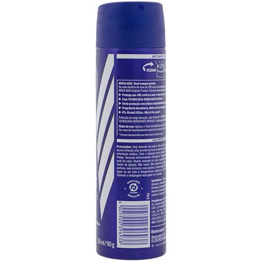 Desodorante Antitranspirante Aerossol Nivea Original Protect 150ml - Imagem em destaque