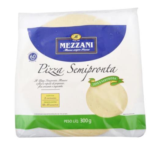 Massa para pizza com 2 unidades Mezzani 300g - Imagem em destaque