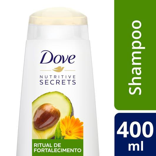 Shampoo ritual de fortalecimento nutritive secrets Dove 400ml - Imagem em destaque